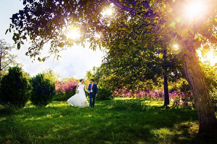 Сказочные фотографии свадьбы в Краснодаре